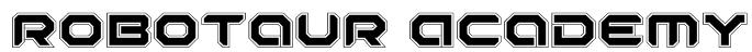 Robotaur Academy Font