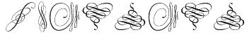 Swinging Font