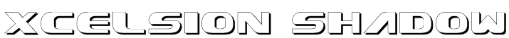 Xcelsion Shadow Font