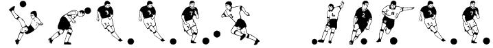 Soccer Dance Font
