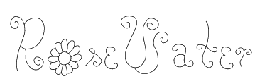 RoseWater Font