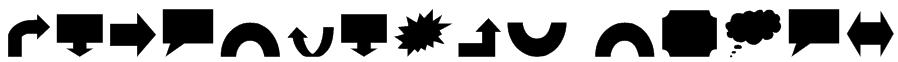 VariShapes Solid Font