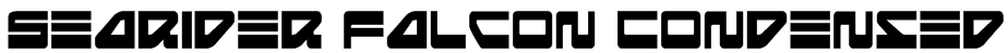 Searider Falcon Condensed Font