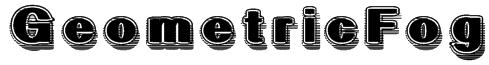 GeometricFog Font