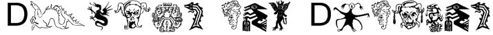 Devils and Dragons Font