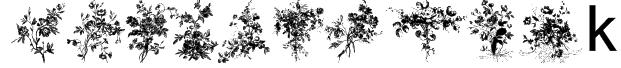 Florals1 Font