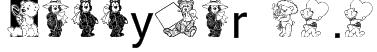 Teddyber V1.1 Font