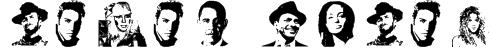 Celeb Faces Font