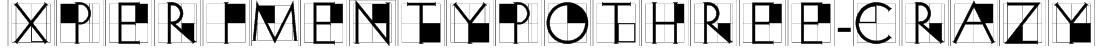 XperimentypoThree-Crazy Font