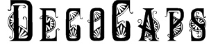 DecoCaps Font