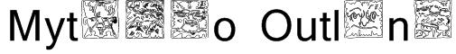 Mythago Outline Font