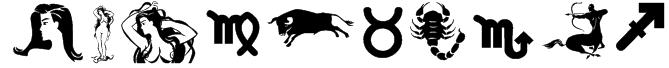 Zodiac Nice Font