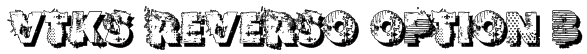 VTKS REVERSO OPTION B Font