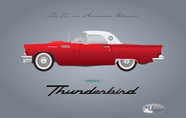 car,classic,creative,design,download,elements,graphic,illustrator,new,original,red,thunderbird,vector,vintage,web,detailed,interface,retro,unique,vectors,quality,stylish,fresh,high quality,ui elements,hires,1957,collectible,hotrod vector