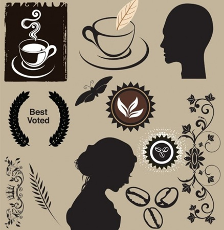 coffee,creative,design,download,elements,eps,graphic,illustrator,man,new,original,set,vector,web,woman,butterfly,detailed,interface,floral,silhouette,head,unique,wreath,vectors,quality,decorative,stylish,badges,beans,fresh,high quality,ui elements,hires,coffee cup,bust,floral elements vector