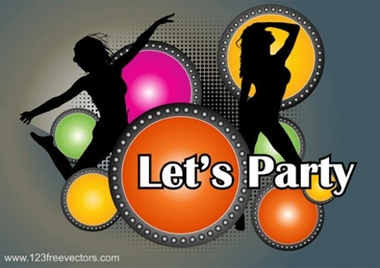 creative,design,download,elements,graphic,illustrator,music,new,original,vector,web,detailed,interface,circles,unique,lights,colorful,vectors,quality,stylish,poster,fresh,high quality,ui elements,halftone,silhouettes,hires,girl silhouette,dancer,dancer silhouette,let's party poster vector