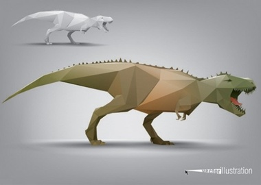 animal,creative,design,download,elements,eps,graphic,illustrator,new,original,vector,web,polygon,detailed,interface,beast,unique,vectors,model,quality,stylish,fresh,high quality,ui elements,hires,dinosaur,stylized vector