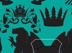 Heraldry Silhouette Vector Elements Set