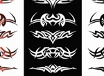 10 Tribal Design Vector Elements Set
