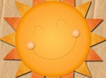 Cheery Layered Sun Template PSD