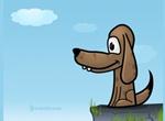 Puppy Dog Vector Illustration