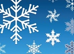 Winter Season Snowflake Vector Graphics