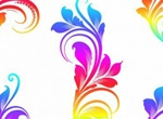 5 Colorful Swirls Vector Graphics