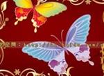 Butterfly Flowers Vector Brush