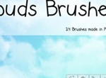Free Clouds Photoshop Brushes