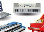 7 Musical Keyboard Vector Instruments