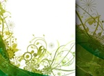 Joyful Green Summer Background