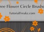 Flower Circle Brushes
