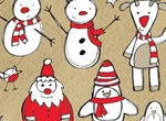 Christmas Theme Sketchy Vector Graphics Pack