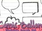 Comic Ballons Brushes