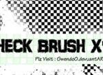 Check Photoshop Brush x 15