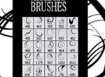 Twirls And Curves Brush Set