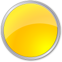 Circle, Yellow Icon