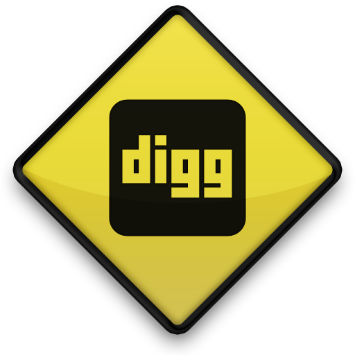 Digg, Sign Icon