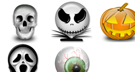 Vista Halloween Icons