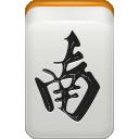 Mahjong, South, Wind Icon