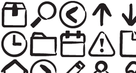 Marker-Style Icons