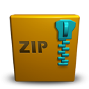 Revolution, Zip Icon