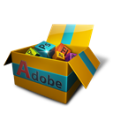 Adobe, Box, Dock Icon