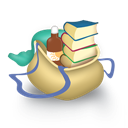 Bag, Books Icon