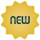 New, Simple Icon