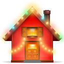 Christmas, House Icon