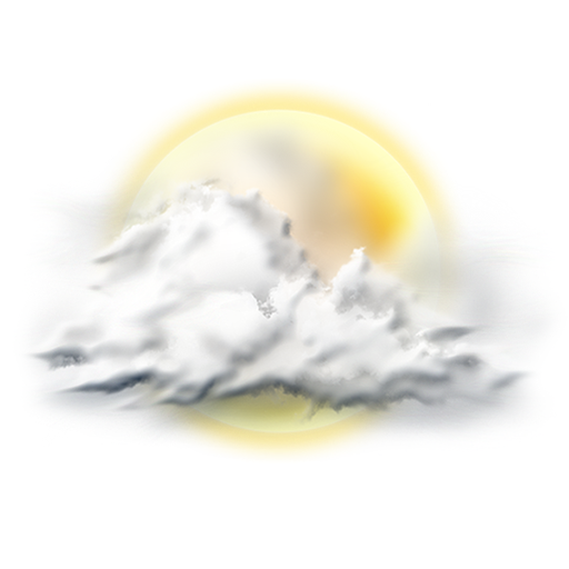 Cloudy, Mostly Icon