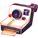 Camera, Polariod Icon