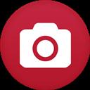 Camera, Circle, Flat Icon