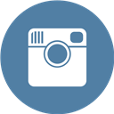Instagram, Round Icon